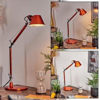 Artemide TOLOMEO MICRO Lampada da Tavolo Arancione, 1-Luce
