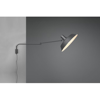 Trio Bolder Applique LED Nero, 1-Luce
