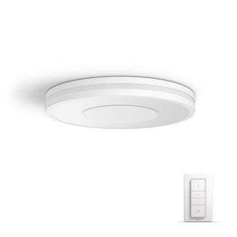 Philips Hue Ambiance White Being Plafoniera LED Bianco, 1-Luce, Telecomando