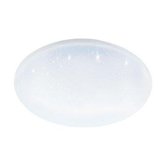 Eglo TOTARI Plafoniera LED Bianco, 1-Luce, Cambia colore