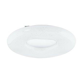 Eglo ZAMUDILO Plafoniera LED Bianco, 1-Luce