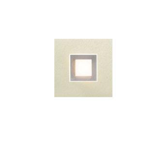 Grossmann Karree Applique LED Titanio, 1-Luce