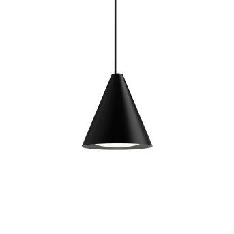Louis Poulsen Keglen Lampada a Sospensione LED Nero, 1-Luce