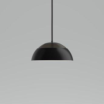 Louis Poulsen AJRoyal Lampada a Sospensione LED Nero, 1-Luce