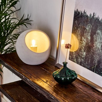 Belltal Lampada da tavolo Grigio, 1-Luce