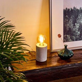 Solano Lampada da tavolo Grigio, 1-Luce