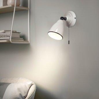 Brilliant TELIO Applique Grigio, Bianco, 1-Luce
