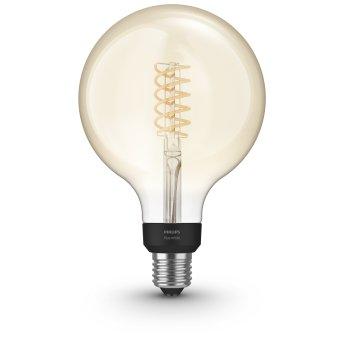 Philips Hue LED White Filament Globe E27 7 Watt 2100 Kelvin 600 Lumen