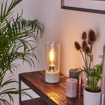 Kumotu Lampada da tavolo Cromo, Grigio, 1-Luce