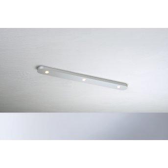 Bopp-Leuchten CLOSE Plafoniera LED Argento, 3-Luci