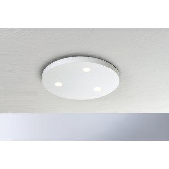 Bopp-Leuchten CLOSE Plafoniera LED Bianco, 3-Luci