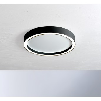 Bopp-Leuchten AURA Plafoniera LED Nero, Bianco, 1-Luce