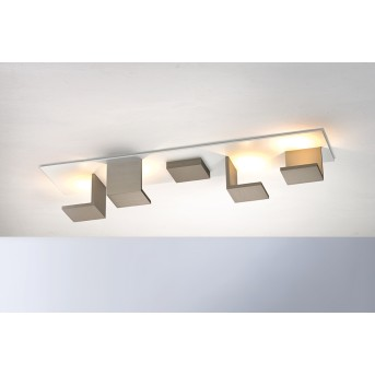 Bopp-Leuchten REFLECTIONS Plafoniera LED Marrone, Bianco, 4-Luci
