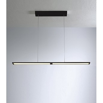 Bopp-Leuchten FLY Lampada a Sospensione LED Nero, 1-Luce