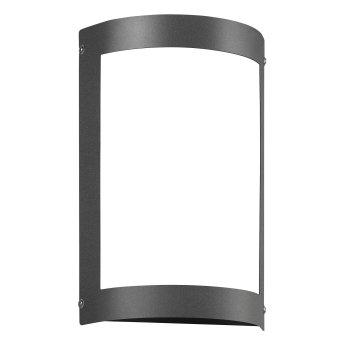 CMD AQUA MARCO Applique da esterno LED Antracite, 1-Luce, Sensori di movimento