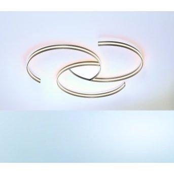 Escale CIRCLES Plafoniera LED Grigio, Bianco, 1-Luce