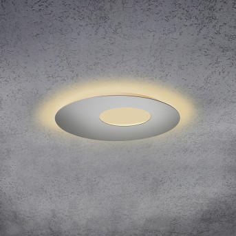 Escale BLADE OPEN Plafoniera LED Argento, 1-Luce