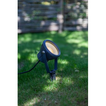 Lutec MINI LETO Picchetto LED Antracite, 1-Luce, Cambia colore