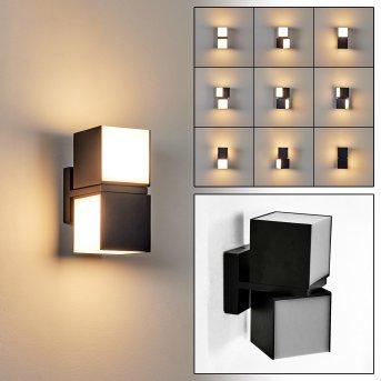 Swanek Applique da esterno LED Nero, 1-Luce
