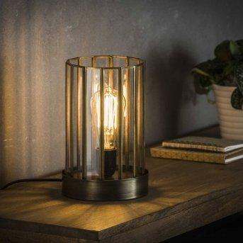 POONHAVEN Lampada da Tavolo Trasparente, chiaro, 1-Luce
