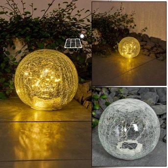 Jurmala Lampada solare LED Trasparente, chiaro, 1-Luce