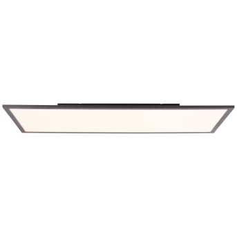 Brilliant Jacinda Plafoniera LED Nero, 1-Luce, Telecomando