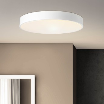 Brillliant Slimline Plafoniera LED Bianco, 1-Luce, Telecomando