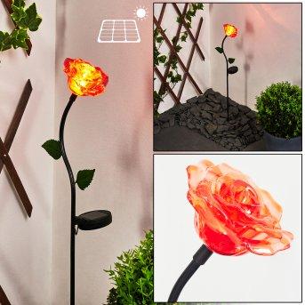 Kerembai Lampada solare LED Nero, 1-Luce