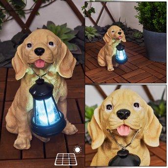 Sofie Lampada solare LED Nero, Marrone, 1-Luce
