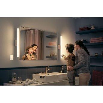 Philips Hue Adore Lampada da specchio LED Bianco, 1-Luce