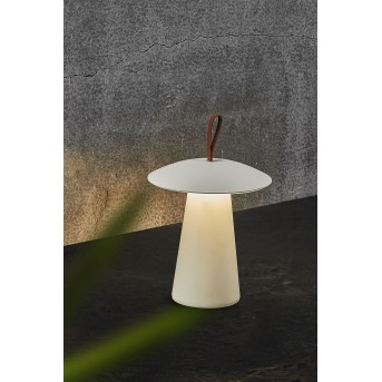 Nordlux ARA Lampada da tavolo LED Marrone, Bianco, 1-Luce