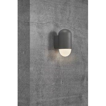 Nordlux HEKA Applique da esterno Antracite, 1-Luce