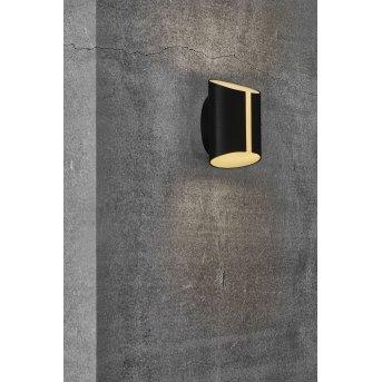 Nordlux SMARTLIGHT Applique da esterno LED Nero, 2-Luci