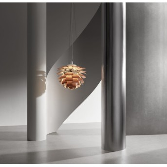 Louis Poulsen PH Artichoke Sospensioni LED Cromo, 1-Luce