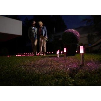 LEDVANCE GARDEN POLE Lampioncino Segnapasso Acciaio inox, 1-Luce, Cambia colore