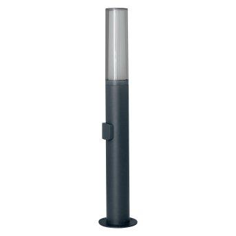 LEDVANCE FLARE Applique da esterno Grigio, 1-Luce, Cambia colore