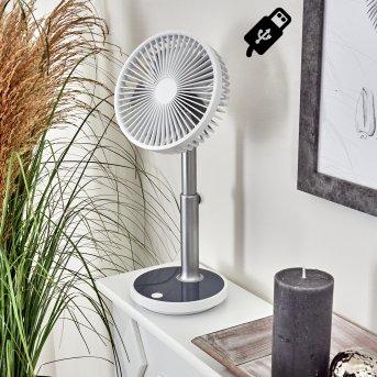 Visting Ventilatore LED Grigio, Bianco, 1-Luce