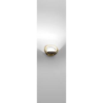 Artemide Pirce Micro Applique LED Oro, 1-Luce