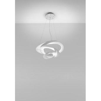 Artemide Pirce Mini Lampada a Sospensione Bianco, 1-Luce