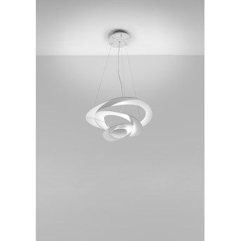 Artemide Pirce Mini Lampada a Sospensione LED Bianco, 1-Luce