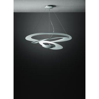 Artemide Pirce Lampada a Sospensione LED Bianco, 1-Luce