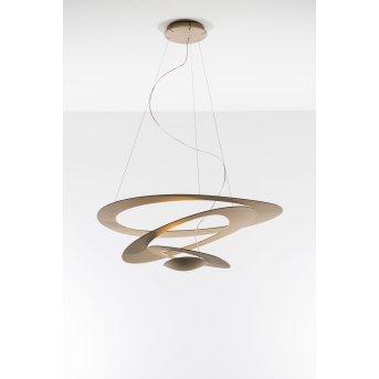 Artemide Pirce Lampada a Sospensione LED Oro, 1-Luce