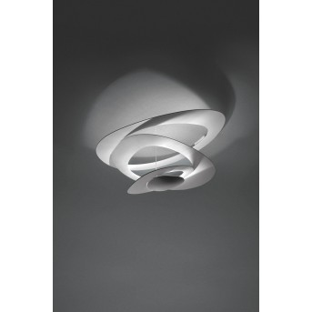 Artemide Pirce Plafoniera LED Bianco, 1-Luce