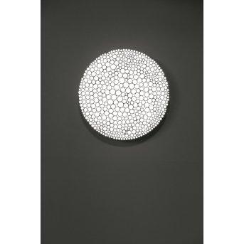 Artemide Calipso Plafoniera LED Bianco, 4-Luci
