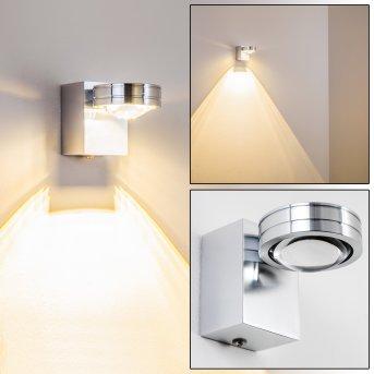 Florenz Lampada bagno LED Alluminio, 1-Luce