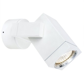 KS Verlichting Cubic Applique Bianco, 1-Luce
