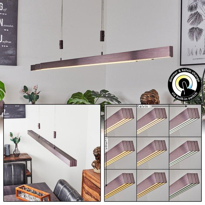 Airolo Lampada A Sospensione Led Marrone H3314791 Lampe Shop Ch