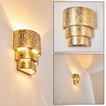 Karatschi Applique Oro, 1-Luce
