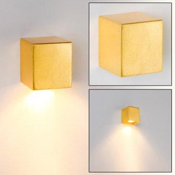 Matera Applique Oro, 1-Luce