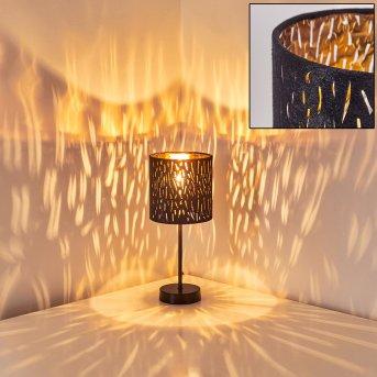 Liared Lampada da Tavolo Nero, 1-Luce